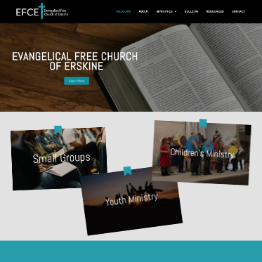 Erskine Church Website